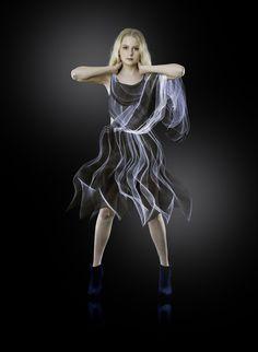 I Made Dresses Using Light
