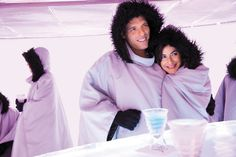 The first ever Ice Bar at sea, exclusively on board Norwegian Epic