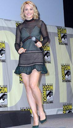 Rachel McAdams in Self Portrait attends Comic Con. #bestdressed
