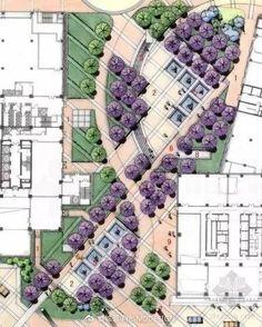 Top 100 Amazing Landscape Layout Ideas - One Villa Architecture, Landscape Architecture Design, Garden Landscape Design, Landscape Plans, Urban Landscape, Landscape Designs, Landscape Bricks, The Plan, How To Plan