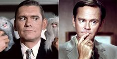 As a kid I didn't understand how you could have someone else play a part and be called the same person (the two Darrens from Bewitched)
