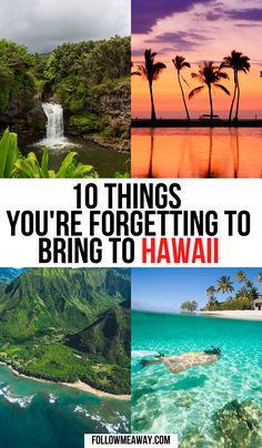 10 Things You Will Need In Hawaii | tips and tricks for traveling to Hawaii | where to stay in Hawaii | where to go in Hawaii | packing list for Hawaii | the ultimate guide to Hawaii travel | bucket list locations for hawaii | hawaii packing | hawaii packing list | hawaii packing list maui | hawaii packing list oahu | hawaii packing list big island | what to bring to hawaii packing lists | trip to hawaii packing lists | travel to hawaii packing lists | #hawaiipackinglist #hawaiitravel Hawaii Travel Guide, Usa Travel Guide, Travel Usa, Travel Guides, Travel Tips, Packing Tips For Vacation, Packing Lists, Travel Packing, Budget Travel