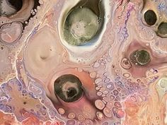 Acrylic Pouring - Making Cells - Detailed Recipe - YouTube
