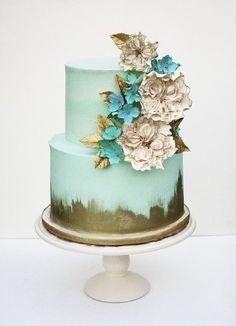 48 Eye-Catching Wedding Cake Ideas - MODwedding