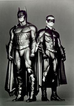 Val Kilmer, Chris O'Donnell - 'Batman Forever', 1995. ☀