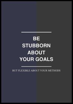 Methods change. #QuoteWednesday
