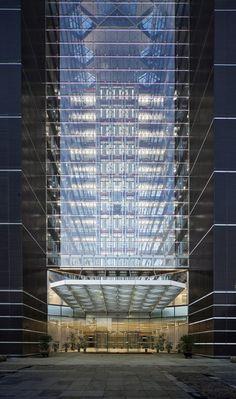 画廊 中国钻石交易中心大厦 / Goettsch Partners - 4