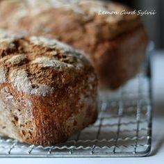 Lemon Curd Sylvii: Chleb razowy na zakwasie