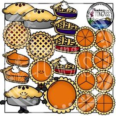 Pie Clipart Bundle