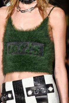 Alexander Wang at New York Fashion Week Fall 2016 - Details Runway Photos