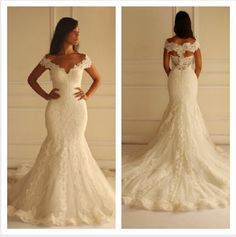 Wedding gown made by Egyptian French designer Yasmine Yeya *****Maison Yeya*****