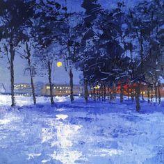 The Cadbury Factory in Moonlight