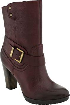 Indigo by Clarks Lida Sayer women's boots (Burgundy)