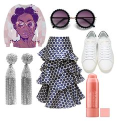 """""""😁✌"""" by memowitta on Polyvore featuring Yves Saint Laurent, A.W.A.K.E. and Oscar de la Renta"""