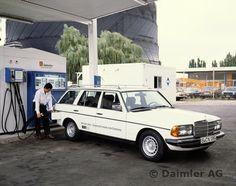 Mercedes-Benz Typ 280 TE, Benzin-Wasserstoff-Mischbetrieb.