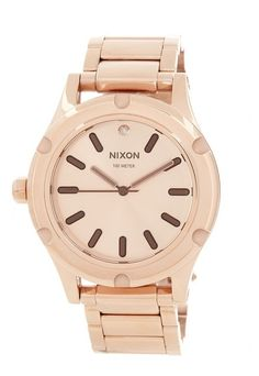 Simple, clean and gorgeous gold watch. Big selection on sale, Sponsored by Nordstrom Rack