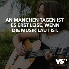 On some days it is only quiet when the music is loud Source by rebec Listening To Music Quotes, Famous Music Quotes, Classical Music Quotes, Metal Music Quotes, Sound Of Music Quotes, Music Quotes Deep, Country Music Quotes, Lyrics For Selfies, Christian Music Quotes