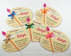 50 Ideas party invitations art for 2019 Artist Birthday Party, Birthday Painting, Birthday Party Themes, Art Themed Party, Party Decoration, Party Planning, Party Time, Party Supplies, Ideas Party