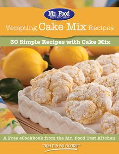 30 Simple Cake Mix Recipes - Grab that spare box of cake mix out of the pantry 'cause we're showing you 30 easy desserts that use our favorite shortcut ingredient!