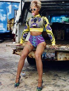 Beyonce' Knowles in Dazed Magazine (Pretty Prints)