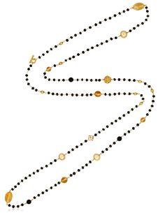 David Yurman Multi-gem 'bead And Chain' Long Necklace