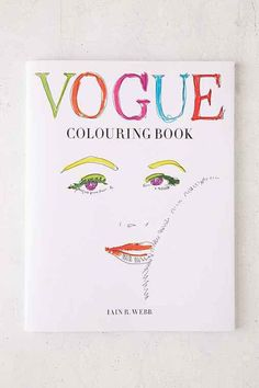 Vogue Coloring Book By Iain R Webb