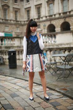 #susiebubble #susiestyles #susannalau #dress #shiny #london #look #streetstyle #streetview #street #style #offcatwalk on #sophiemhabille