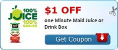 Minute Maid Juice Printable Coupon December 2013