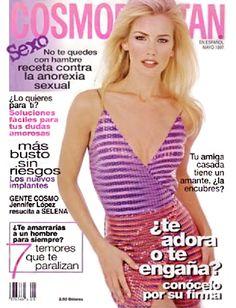 COSMOPOLITAN En Español - Mayo 1997 - Valeria Mazza