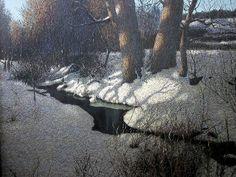 """Ivan Marchuk  """"Spring Landscape"""""""