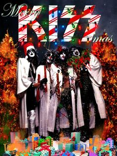 If only Santa was as badass as Ace Frehley, and if only Peter Criss was Rudolph. Merry Christmas?