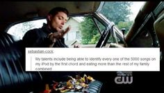 Sorry Dean, but re not that hard when you only have one other surviving blood member...supernatural text post | Tumblr