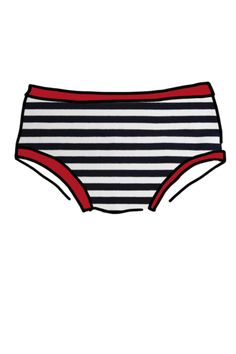 Womens Original Citrus Stripe NZ thunderpants company doesn't ride up big panties comfort organic cotton underwear Made Clothing, Ladies Boutique, Fashion Brands, Organic Cotton, Cool Designs, Stripes, Black And White, The Originals, Swimwear