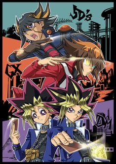 Tags: Yu-Gi-Oh!, Yami Yugi, Yu-Gi-Oh 5Ds, Yu-Gi-Oh! GX, Yusei Fudo, Juudai Yuuki, Studio Gallop, Yu-Gi-Oh! Duel Monsters, Mutou Yuugi