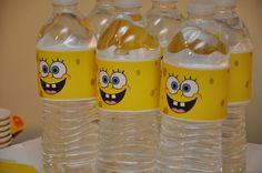 Aqua spongebob