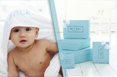 Personalised Hooded Baby Towel