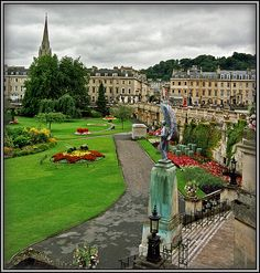 Bath, England went here for a school trip 2005. The roman baths are very interesting