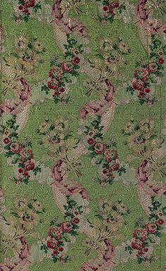 Brocaded silk [French] (69.79.3)   Heilbrunn Timeline of Art History   The Metropolitan Museum of Art