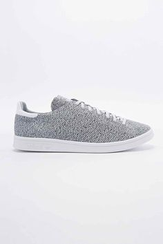sports shoes c9641 36df2 adidas Stan Smith Prime Knit Trainers in Grey