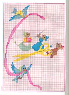 Cinderella Cross Stitch