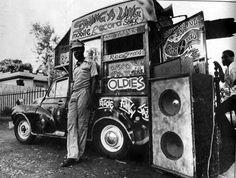 Record reggae car