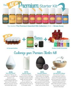 The latest Premium Starter Kit from Young Living essential oils