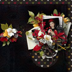 "Follow your Heart 2 by MLDesign _ page kit, patterns_ ""capture with love"" _ page Myriam"