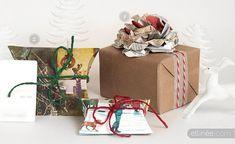 idee per decorare e abbellire i pacchi e carta da pacco