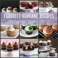 Favorite Cupcake Recipes from Handletheheat.com