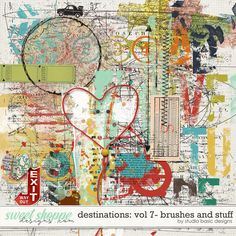 Destinations: Vol 7 - Brushes And Stuff by Studio Basic