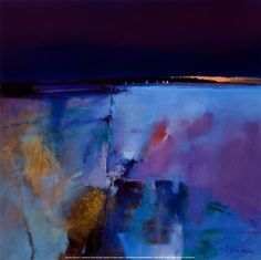 Blue Horizon by Peter Wileman  Tags: art, abstract, painting, oil, acrylic