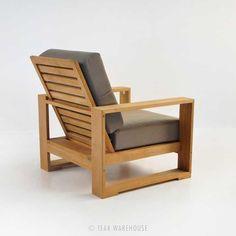 Teak Warehouse | Havana Mid Century Modern Chair #TeakOutdoorFurnituremodern