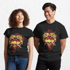 Promote   Redbubble My T Shirt, Tee Shirts, Tees, Wolf T Shirt, Cute Chickens, Halloween Party Costumes, Tshirt Colors, Chiffon Tops, Sleeveless Tops