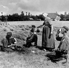 rustpauze / schaft Vintage Photographs, Vintage Photos, Holland Netherlands, Travel Netherlands, White Whale, Farm Photo, Old Photography, Calendar Girls, Vintage Farm